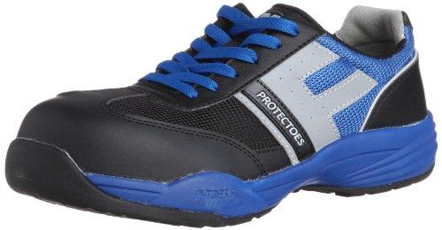 [ミドリ安全] 安全作業靴 JSAA認定 プロスニーカー プロテクトウズ5 PF110 メンズ ブルー 22.0(22cm)