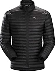 CERIUM SL JACKET - The lightest weight down jacket in the Arc'teryx Essentials collection, this sewn through down jacket is intended as a light mid layer in cool, dry conditions, but also performs as a minimalist standalone when moderate warmth is re...