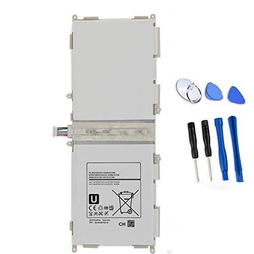 ASKC EB-BT530FBU Battery for Samsung Galaxy Tab 4 10.1' SM-T530 SM-T530NU T531 T535 T537 T537A T537R4 P5220 Series Tablet EB-BT530FBC EB-BT530FBE with Tools (3.8V 25.84Wh 6800mAh)