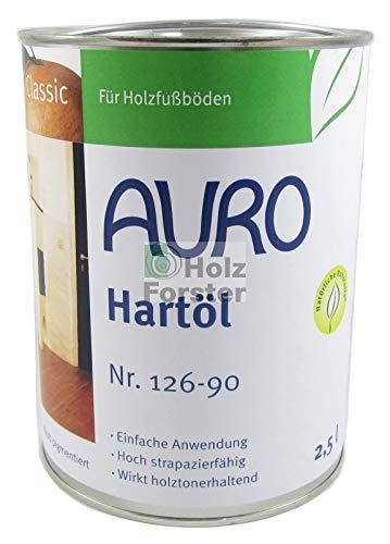 AURO Hartöl Classic Nr. 126-90 Weiß pigmentiert, 2,50 Liter