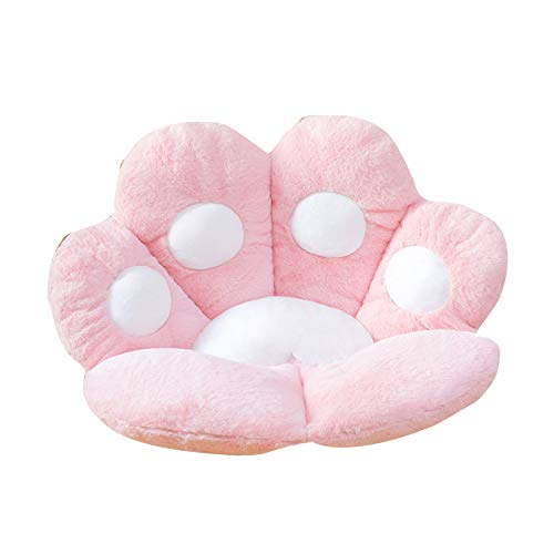 Kuaijie Cute Cat Paw Sitzkissen, Seat Cushion Cat Paw Shaped Cute Seat Cushion, Cat Paw Shaped Lazy Sofa Office Chair Cushion for Office Room