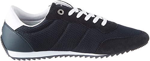 Tommy Hilfiger Herren Essential MESH Runner Sneaker, Blau (Desert Sky Dw5), 44 EU