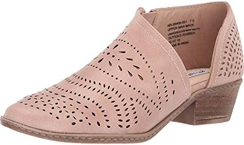 Elegant Not Rated Anouk Asymetrical Perforated Oakland Mall Bootie