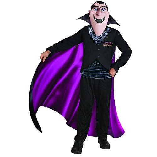 Ciao- Hotel Transylvania Costume Conte Drac con Maschera per Bambini, Nero, 5-7 anni, 11154.5-7