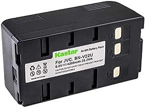 Kastar Battery Replacement for Panasonic BP-12 BP-15 BP-17 BP-18 HHR-V20A/1B HHR-V214A/K HHR-V40A/1B PV-213A PV-214A PV-215A PV-B18 PV-BP15 PV-BP17 VW-VBH1E VW-VBH2E VW-VBR1E VW-VBR2E VW-VBS1 VW-VBS1E VW-VBS2 VW-VBS2E