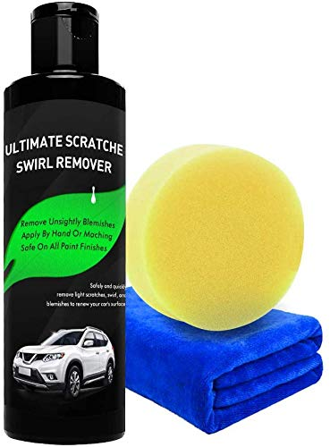YOOHE Car Scratch Remover - Car Scratch Remover Polish, Scratch Removal for Cars and Swirl Remover, Easily Repair Light Car Scratches and Water Spots