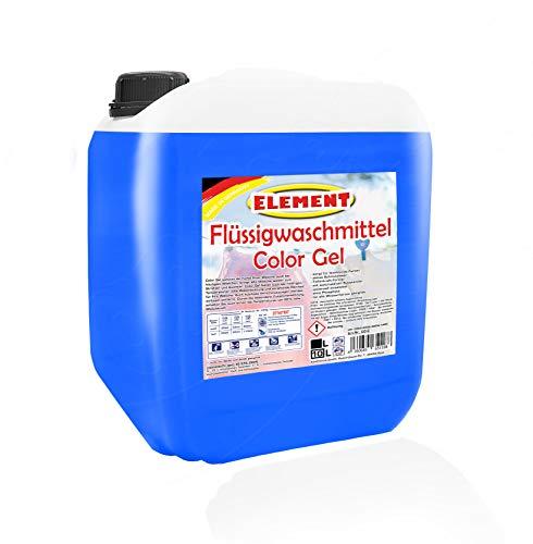 Element Flüssigwaschmittel Color Gel Waschmittel Color Waschmittel Buntwäsche Waschpulver flüssig 10 Liter