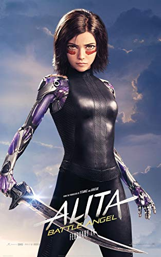 Lionbeen Alita Battle Angel Movie Poster Filmplakat 70 X 45 cm