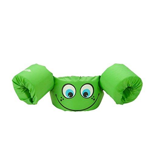 Stearns Original Puddle Jumper Kids Life Jacket | Life Vest for Children, Green Smile