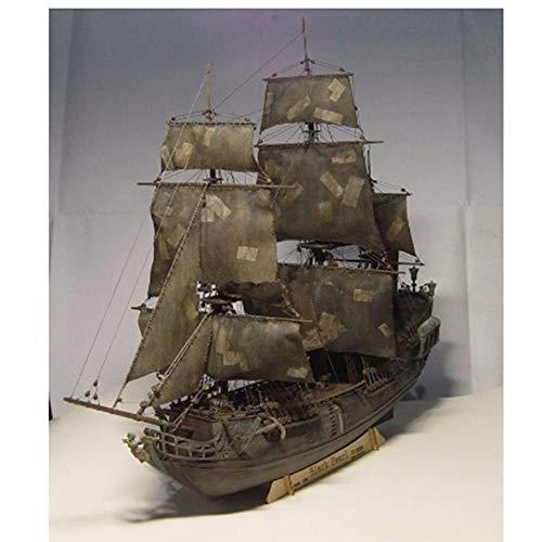 LYXin Kit de Bateau de Bateau Black Pearl échelle 1/96 3D découpé au Laser Kit de modèle Black Pearl Comprend des manuels en Anglais