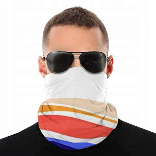 Stirnbänder für Männer und Frauen, Halstuch, Gesichtsmaske, Stirnband, Schal, Stadtlandschaft, niedliche kleine Gebäude auf Turban, mehrseitiger Druck
