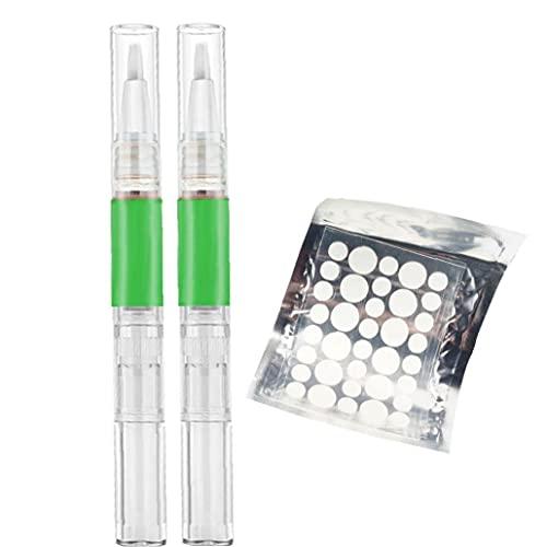 Skin Tag Removal Liquid Drogfri snabbt Healing Mole Remover Pen med huden tag Plåster