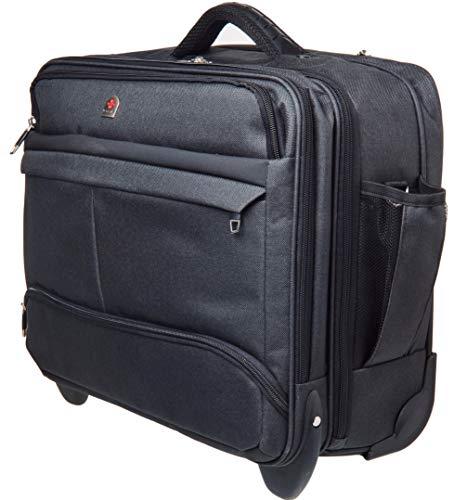 Tassia Large Wheeled Laptop Case Roller Bag Pilot Case 17' Laptop - Shoulder Strap - 32 litres