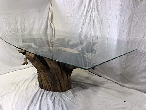 Mesa de centro de madera hecha a mano