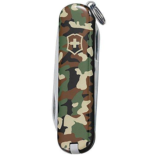 Victorinox Taschenmesser Classic SD (7 Funktionen, Klinge, Schere, Nagelfeile) camouflage B