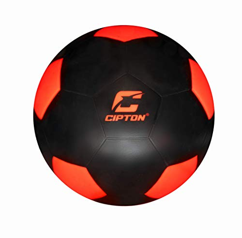 Cipton Illuminated LED Light Up Soccer Ball, Dual Bright LED...