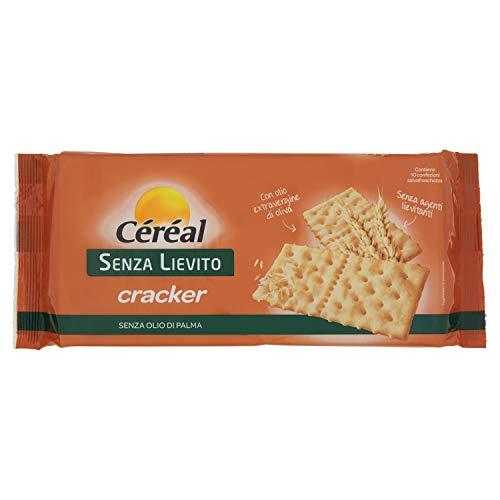 Céréal 198198 Crackers con Olio Evo e Farina di Frumento, Senza Lievito - 250 g