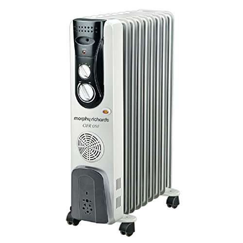 Morphy Richards OFR 9 9-Fin 2400 Watts Oil Filled Radiator Room Heater (Ivory)