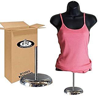 Female Mannequin Torso with Stand by EZ Mannequins, Body T Shirt Display, 8