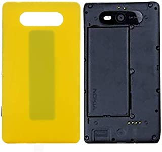 Practical Convenient Spare Parts Compatible with Nokia Lumia 820 Back Cover Replacement Parts (Size : Sp9061yl)