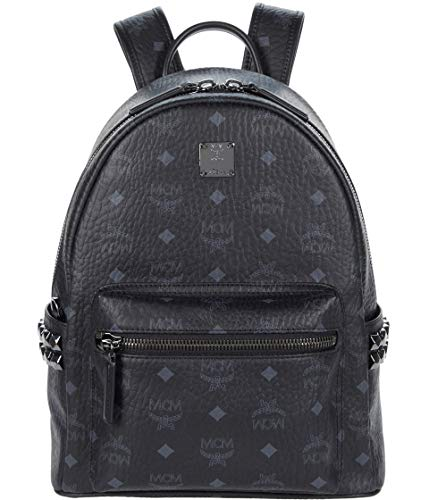 MCM Stark Backpack Small Black One Size