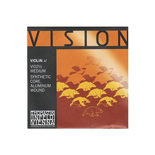 Vision ヴィジョン バイオリン弦 A線 アルミ巻 VI02 1/2
