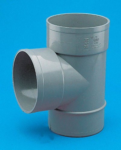 Adequa sistemas de canalón - Derivación 87,30 pvc bv-18 diámetro 110