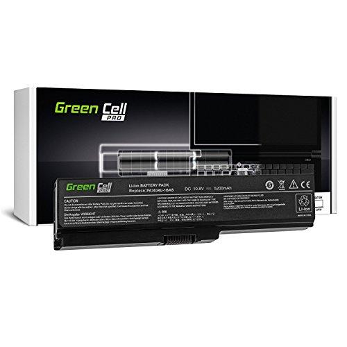 Green Cell® PRO Serie PA3634U-1BRS Batería para Toshiba Satellite A660 A665 L510 L650 L650D L655 L655D L675 L670 L670D M300 M500 U400 U500 Ordenador (Las Celdas Originales Samsung SDI, 5200mAh)
