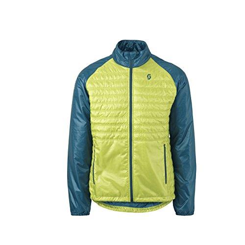 Scott Insuloft Light Jacket Herrenjacke Ink Blue Yellow L