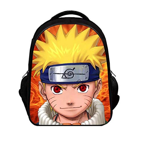 LLYDIANJunior Backpack for Kids 3D Naruto Customize Your Own Image or Picture Child Girl Boy School Backpack Large Capacity Personalized School Bag (Color : Multi2)