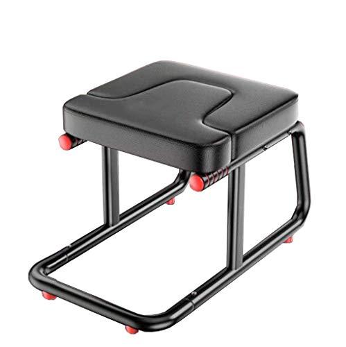 CURVEASSIST Pilates Kopfstand Bank Inverted Artifact Home Inverted Hocker Inverted Chair Erhöht Auf Den Kopf Yoga Auxiliary Fitness Stretcher Schwarz,Black-StoolOnly