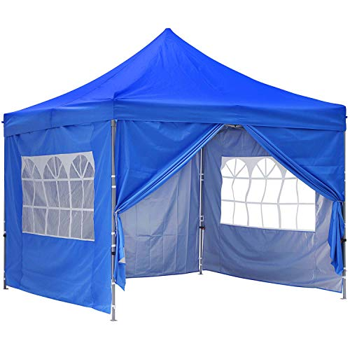 GDY 10x10 Ft Outdoor Pop Up Canopy Tent Commercial...