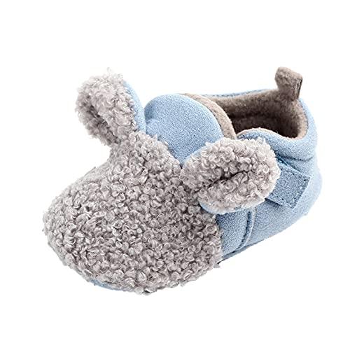 Baby Schuhe 6-12monate Junge taufe Kleinkind Schuhe Mädchen Lauflernschuhe Plüsch Krabbelschuhe Weicher Boden Bodensocken Kinderschuhe Indoor Kinder Babyschuhe