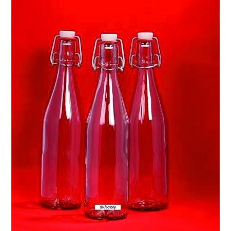 10 x Cintres bouteilles flacons en verre Cintres Fermeture Cintres bouteille porcelaine 330 ml 0,3