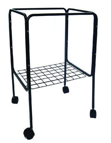 YML Stand for Cage Size 18 by 18-Inch and 18 by 14-Inch, Black