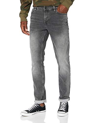 Only & Sons Onsloom Slim Zip Sweat ST 7103 Noos Jeans, Grey Denim, 32W x 30L para Hombre