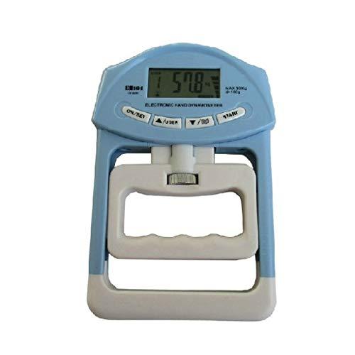 BIlinli 90 kg digitales Handprüfgerät mit hoher Genauigkeit zur Messung der Griffstärke für den Test der körperlichen Fitness