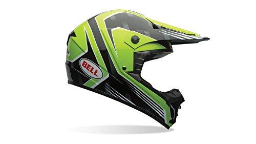 Bell Helmets 7061268 MX 2015 SX-1 Storm Casque adulte, Vert, XS xx-large Race Grün
