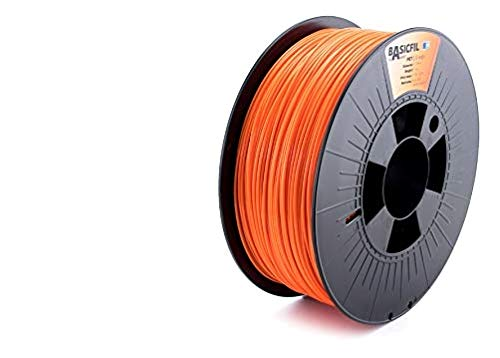 BASICFIL PET  1.75mm, 1 kg, 3D printing filament , Orange