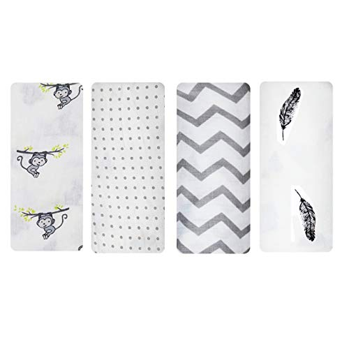 Rajlinen Muslin Swaddle Blankets - Soft Silky 100% Muslin Cotton Swaddle