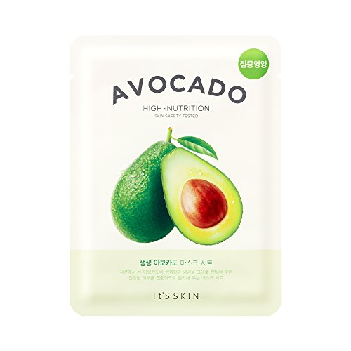 It\'s Skin The Fresh Mask Sheet Avocado Gesichtsmaske Korean Kosmetik 1 Stück