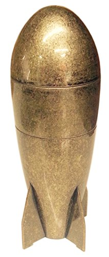 """Holy Grail Grinders - The Atomic Grinder - The Original 6"""" Tall Atomic Bomb Shaped Herb Spice Grinder"""