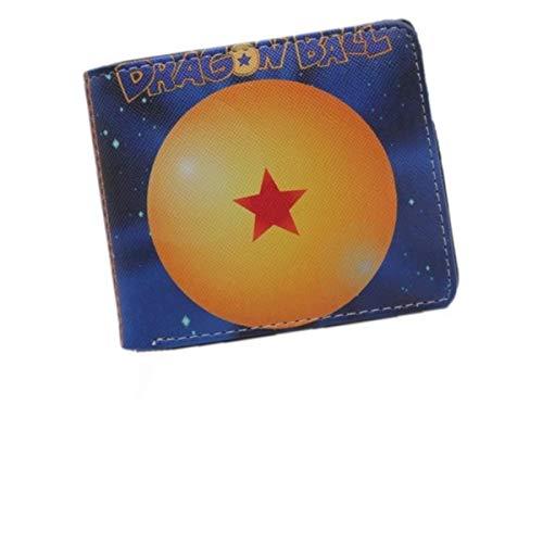 Dragon Ball Z Brieftasche Anime Dragon Ball Super Herren Short Wallet Zipper Wallet Damen Geldbörse 29
