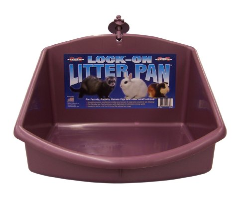 Marshall Pet Products Lock on Litière Pan 1 Unité