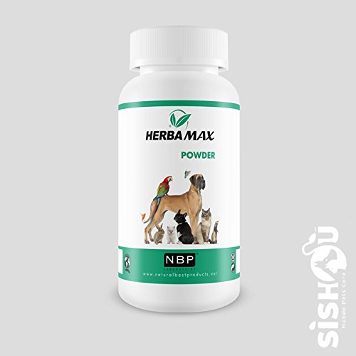 Natural Best Products Herbamax Anti-Parasiten-Puder Hund, Katze, 100 g