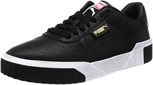 PUMA Damen Cali Wn S Sneaker, Black Black, 37 EU