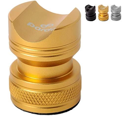 Pardo Cigar Stand, Portable Cigar Rest, Compact Outdoor Cigar Holder (Gold)