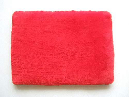 Coussin de bureau de couleur unie coussin étudiant étudiant ordinateur coussin canapé coussin fenêtre de tatami ménage tapis de bureau (Couleur : Red, taille : 45 x 45CM)