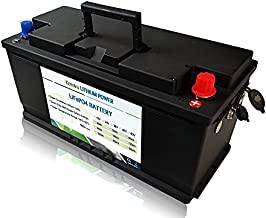 Kcvolro 12V 100Ah 1280Wh | LiFePO4 Deep Cycle Lithium Battery | Built-in BMS | Over 7000+ Cycles Lifetime | Perfect for RV,Camper, Solar, Marine, Overland,Van,Off-Grid Applications.