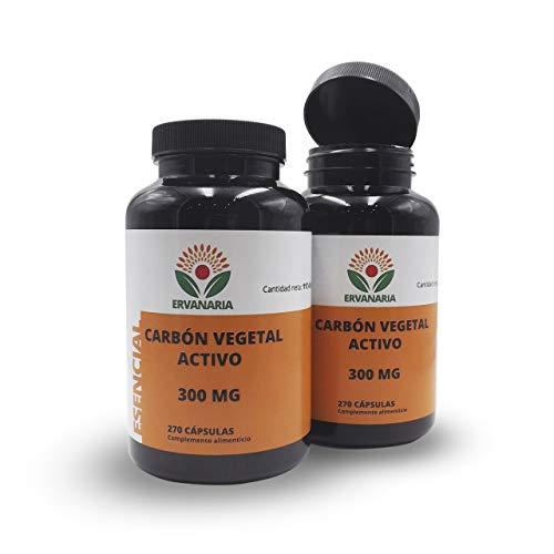 Carbone Vegetale Attivo 300 mg 270 capsule, ✦ migliora la digestione, ✦ contro il bruciore di stomaco, ✦ combatte l'alito cattivo e l'alitosi, elimina i gas. ✦ Per sbiancare i denti